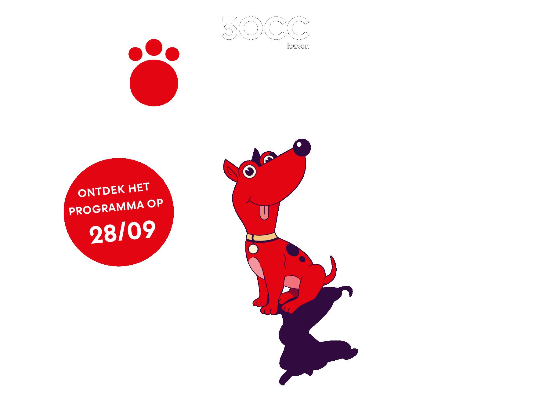 30CC - Rode Hond - een kunstenfestival voor families - editie 2021 - van donderdag 4 tot en met zondag 7 november